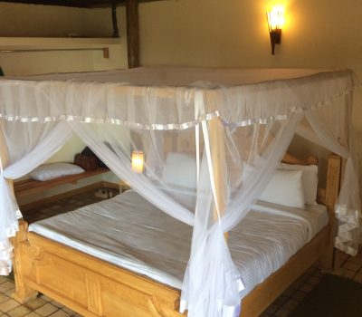 Double bed in cottage 2