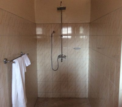 Shower in the cottage